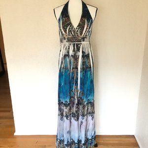Cristinalove Halter Maxi Dress